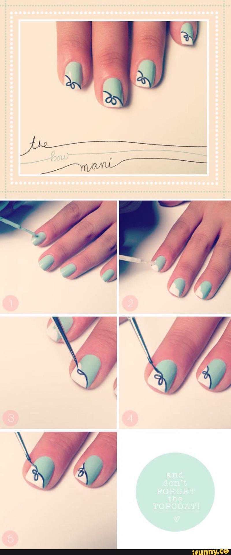 Домашний дизайн ногтей своими руками
