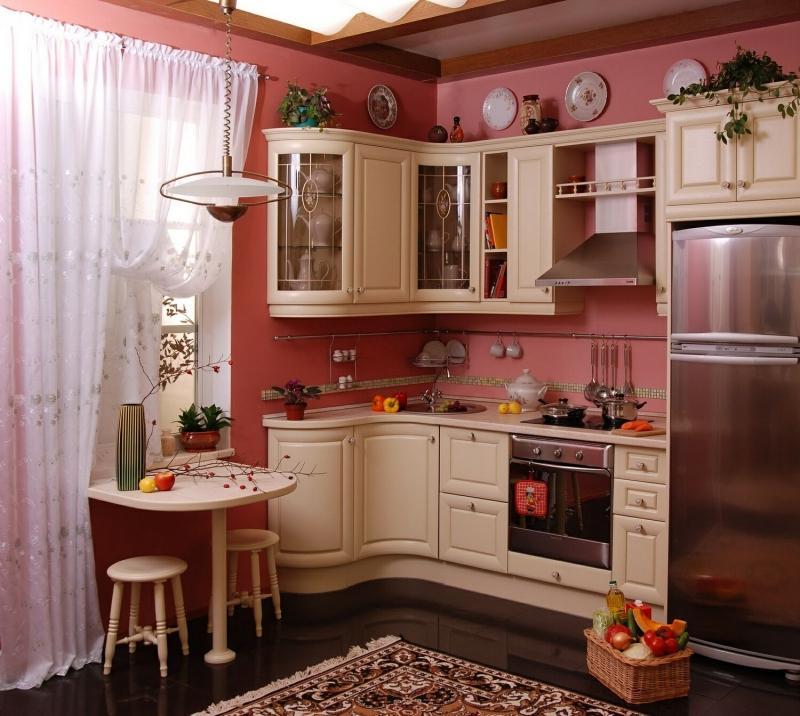 Фото красивых интерьеров маленьких кухонь
