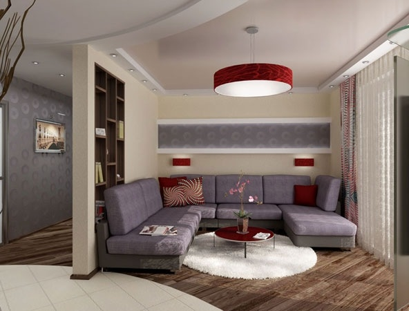 Дизайн маленькой гостиной без окон фото 2015 современные идеи