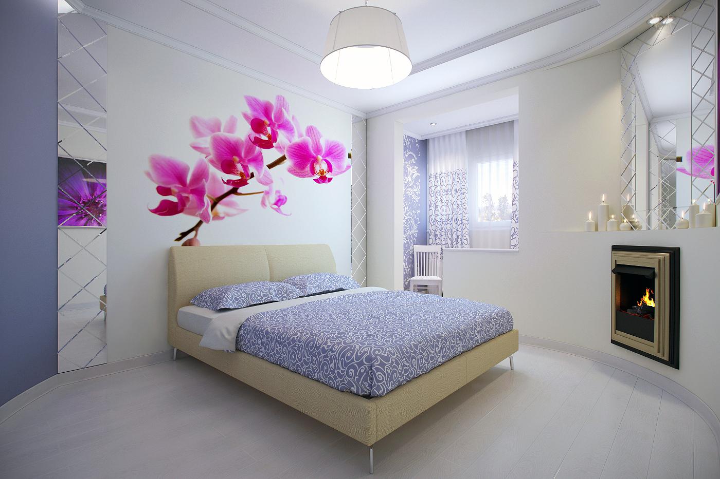 Спальня фото интерьера недорого