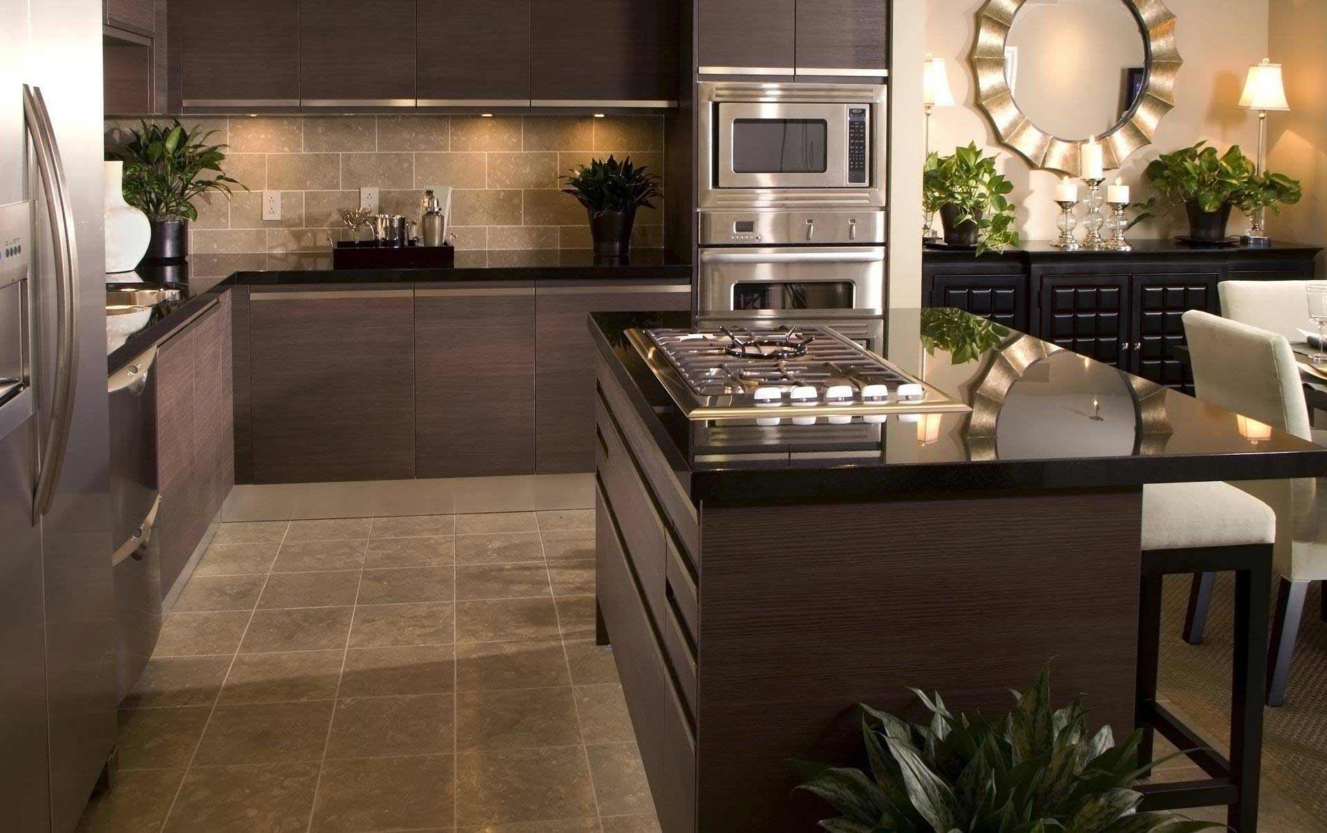 Кухни дизайн в стиле современные