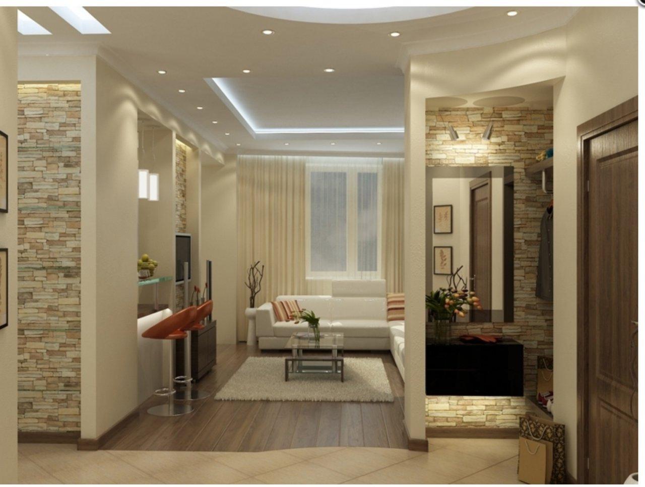 Фото дизайн проект 3-х комнатных квартир в