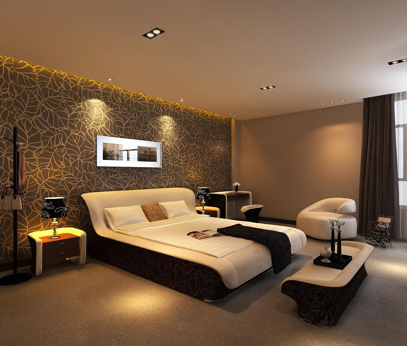 Красивый интерьер спальни в квартире фото