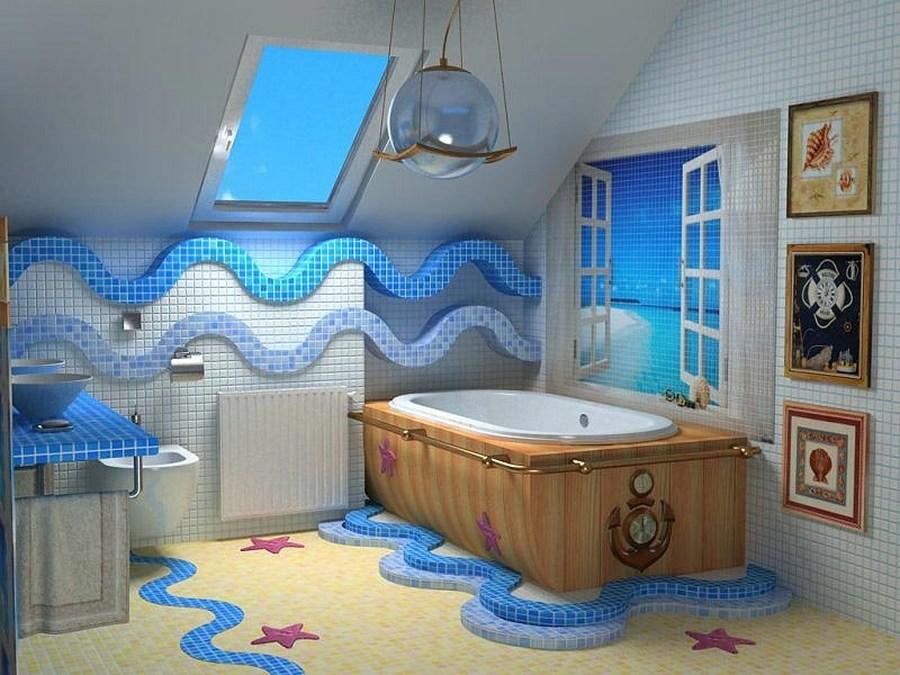 Фото ванная комната оформление своими руками