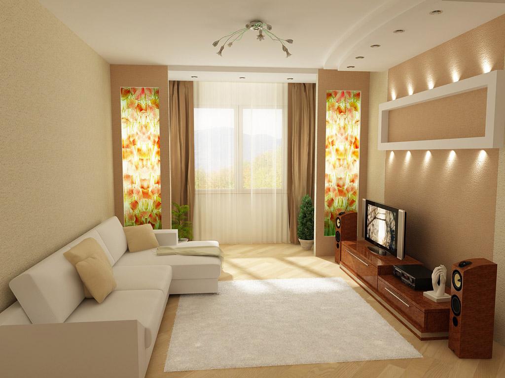 Гостиная прямоугольная 18 квадратов дизайн