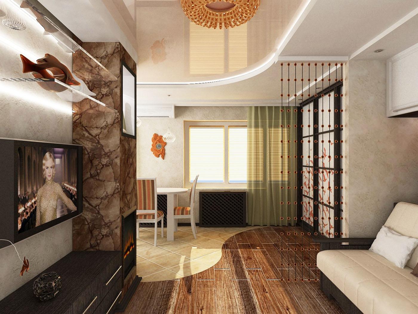 Хрущевка 2 комнатная дизайн гостиная