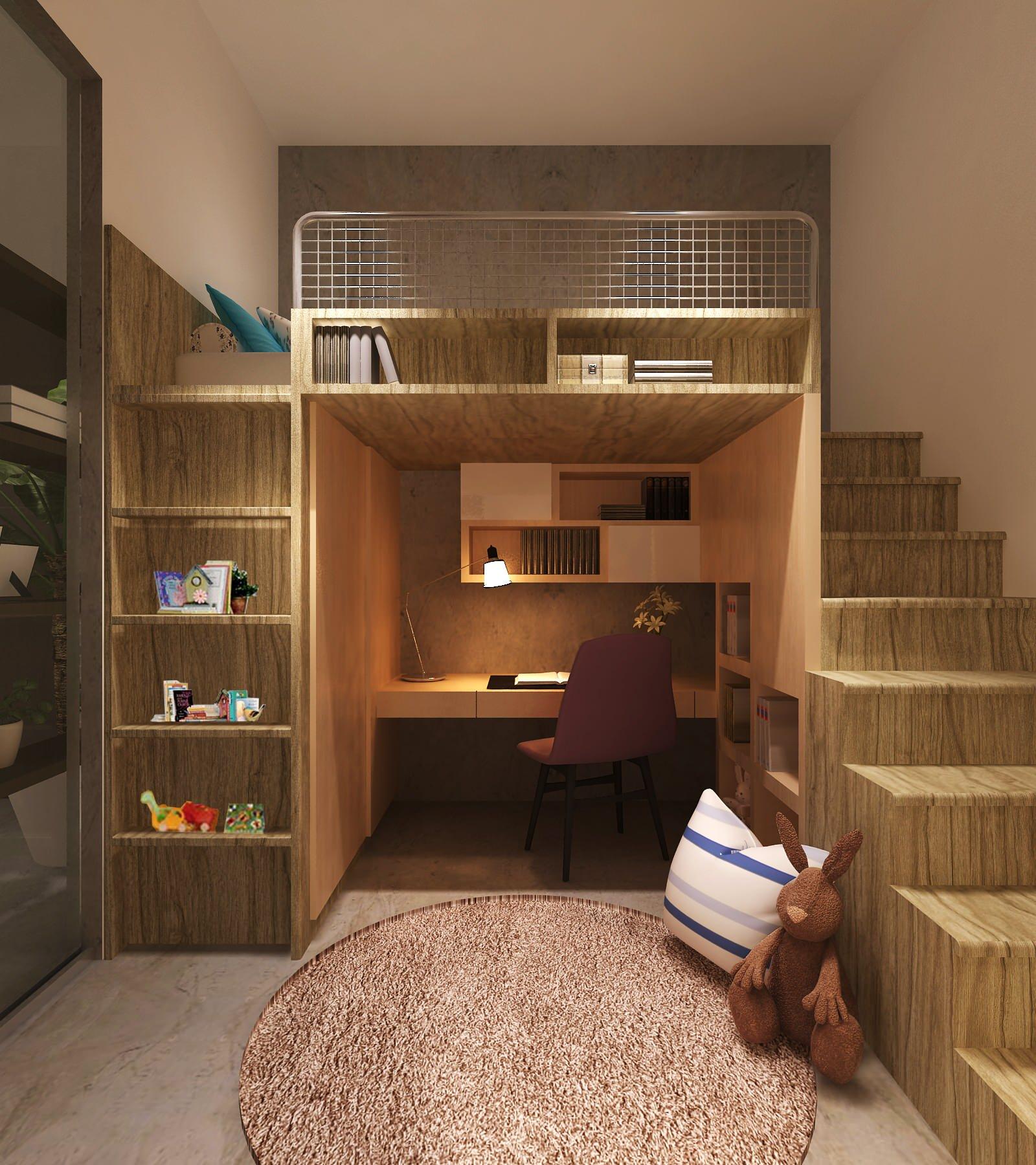 15 entertaining contemporary kids' room designs.