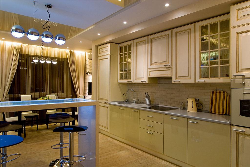 Кухни стильные кухни в интерьере