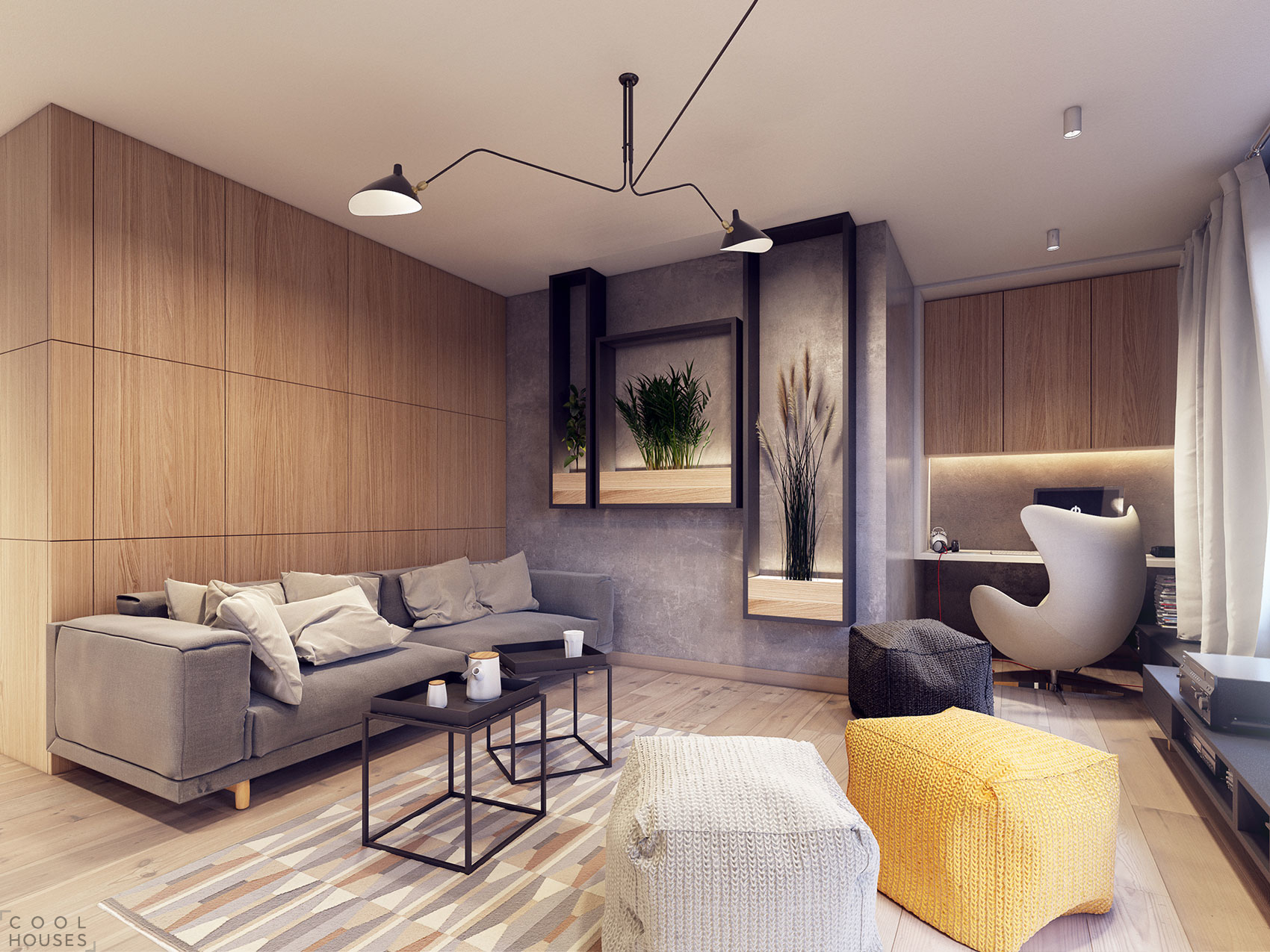 Современные интерьеры квартир 2016 фото