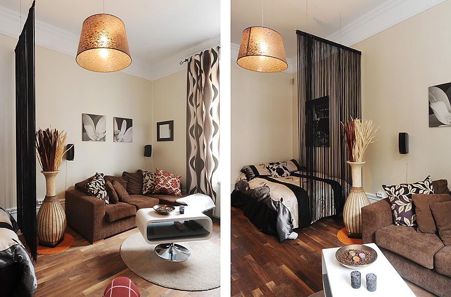 Интерьер однокомнатной квартиры 36 кв.м фото с нишей
