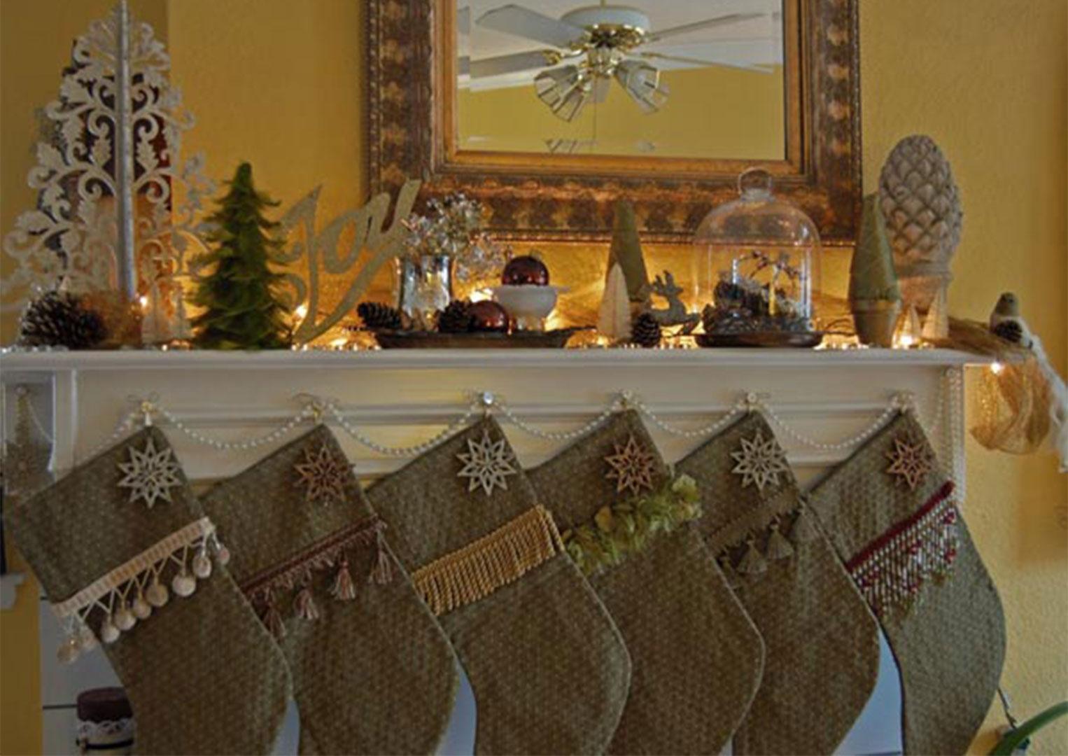 Украшение и декор на рождество и новый год своими руками
