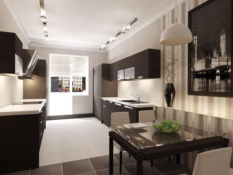 Кухня 9 квм Как вам дизайн