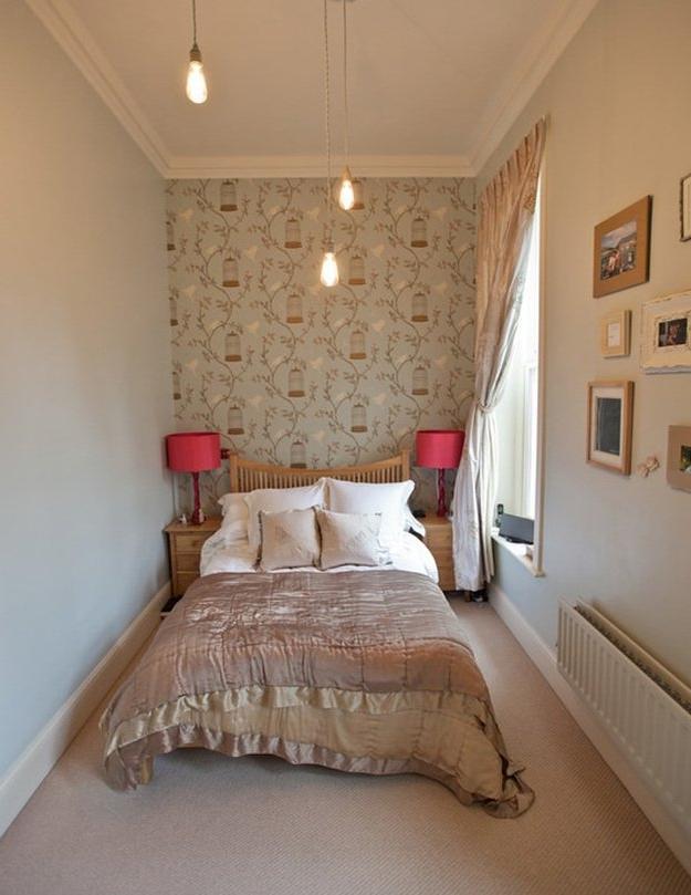 Интерьер спальни 6 кв м фото