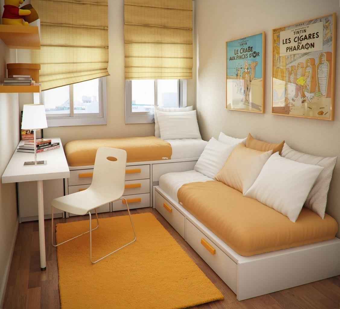 Дизайн комнат маленькой площади 177
