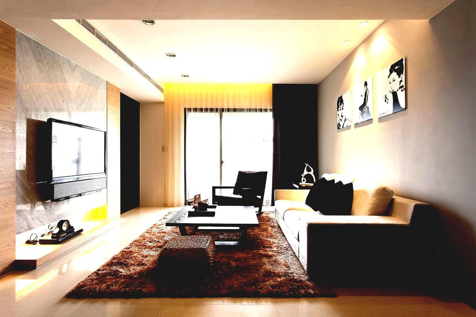 Дизайн зала 1 квартира