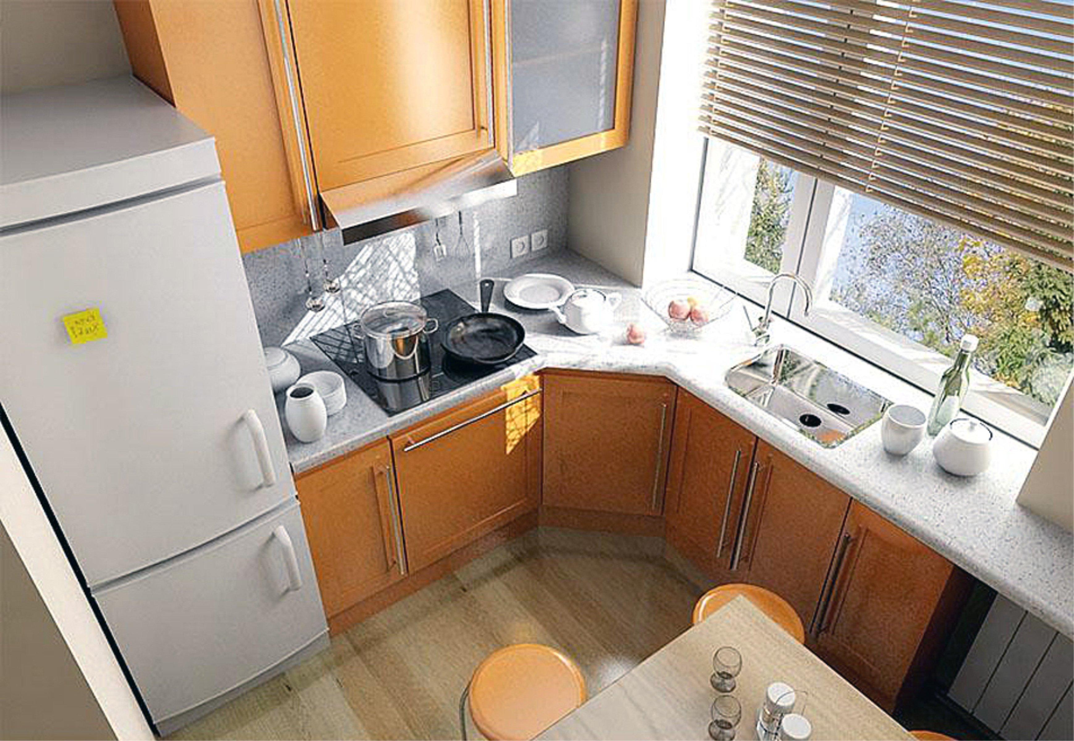 Угловая кухня своими руками на 5 кв.м