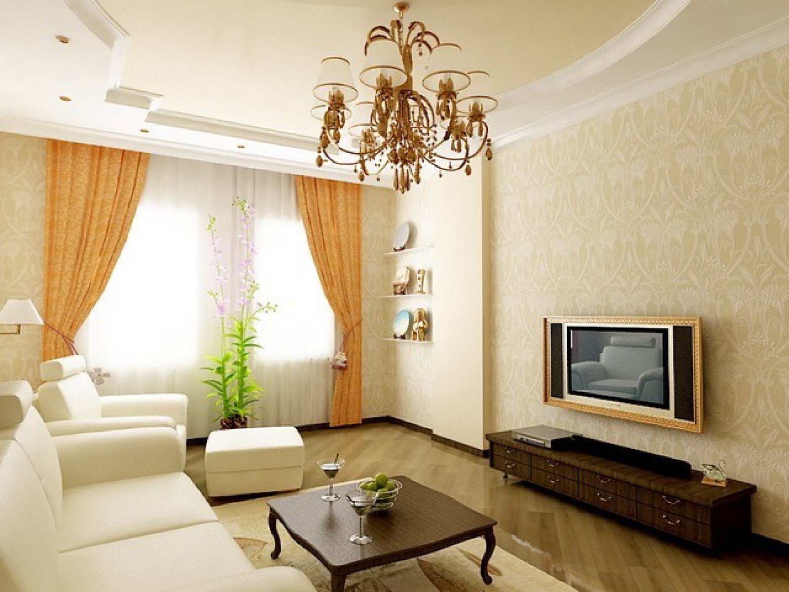 Идеи ремонта хрущевки гостиной фото