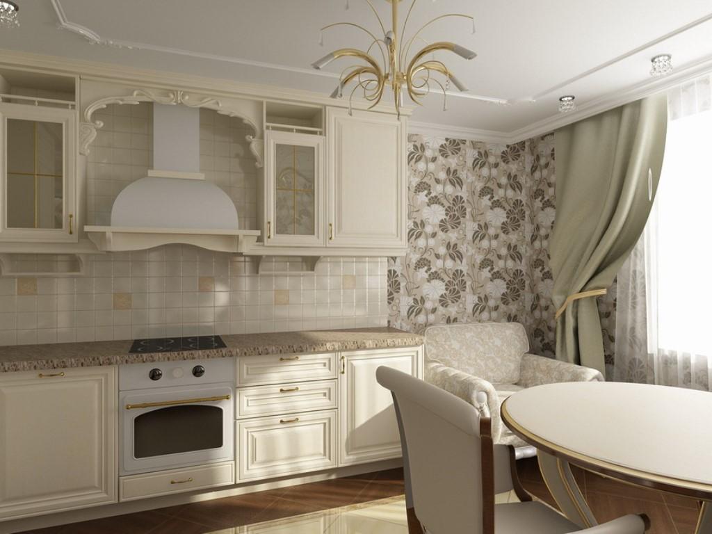 Кухни в интерьере классика фото