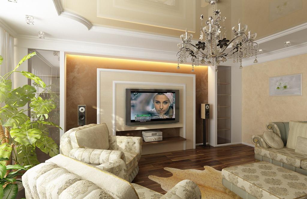 Интерьер квартиры современная классика фото