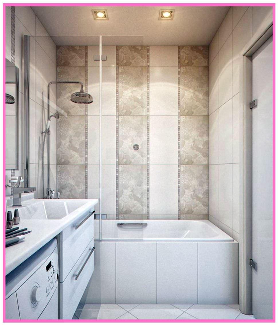 Плитка для ванной комнаты дизайн для маленькой площади 4 кв