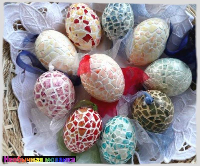 Яйцо на пасху своими руками интересные 17