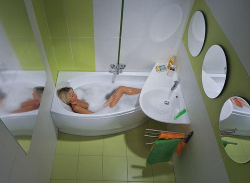Фото ремонт в маленькой ванной