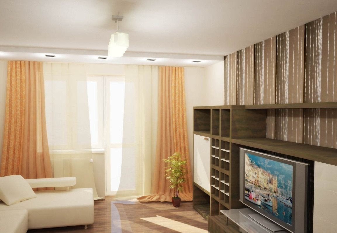 Дизайн квартир 2 х комнатных и
