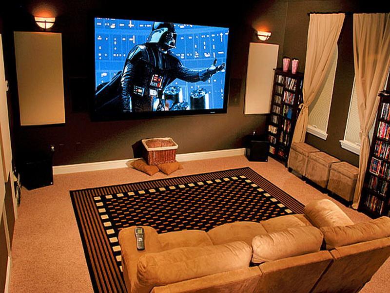 Как сделать дома кинотеатр