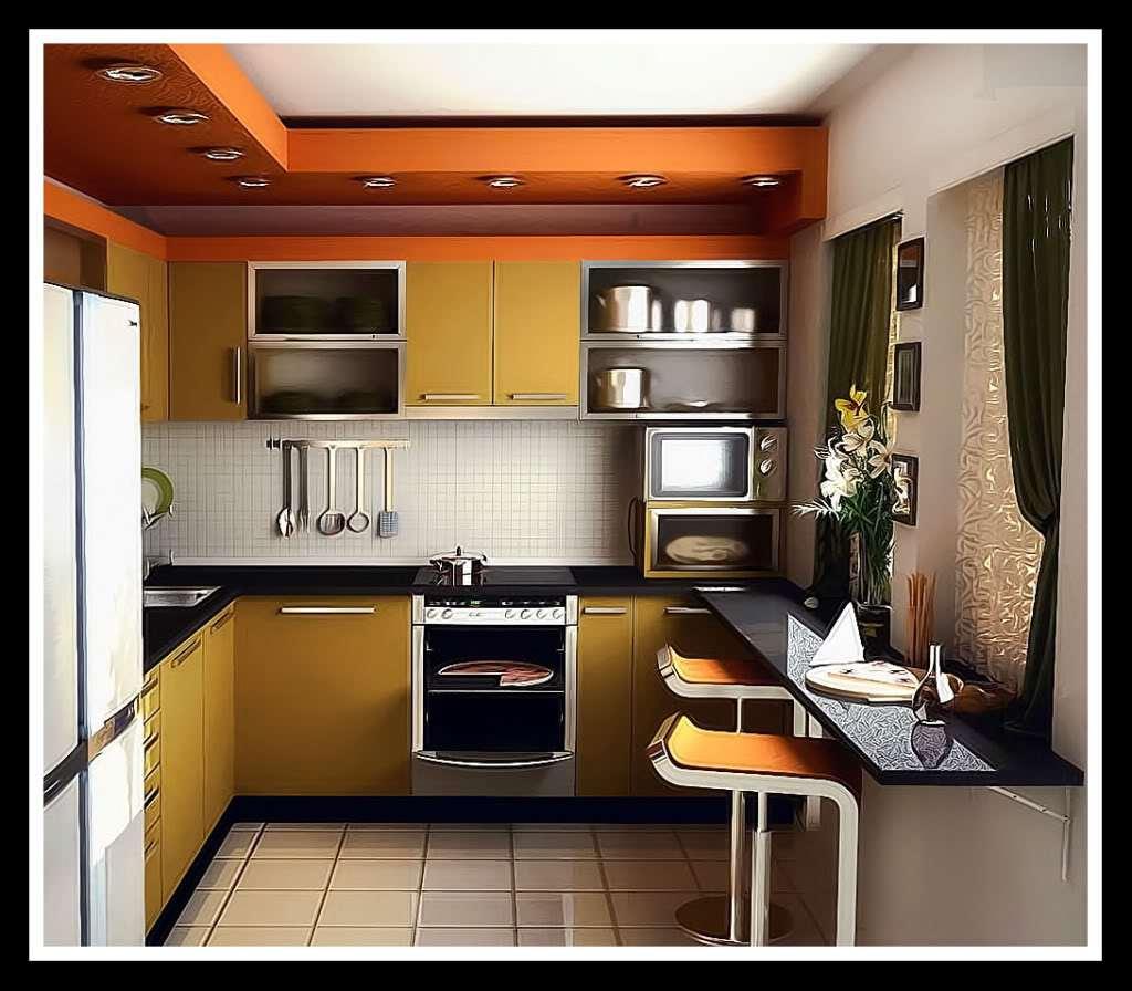 11 Простой дизайн кухни