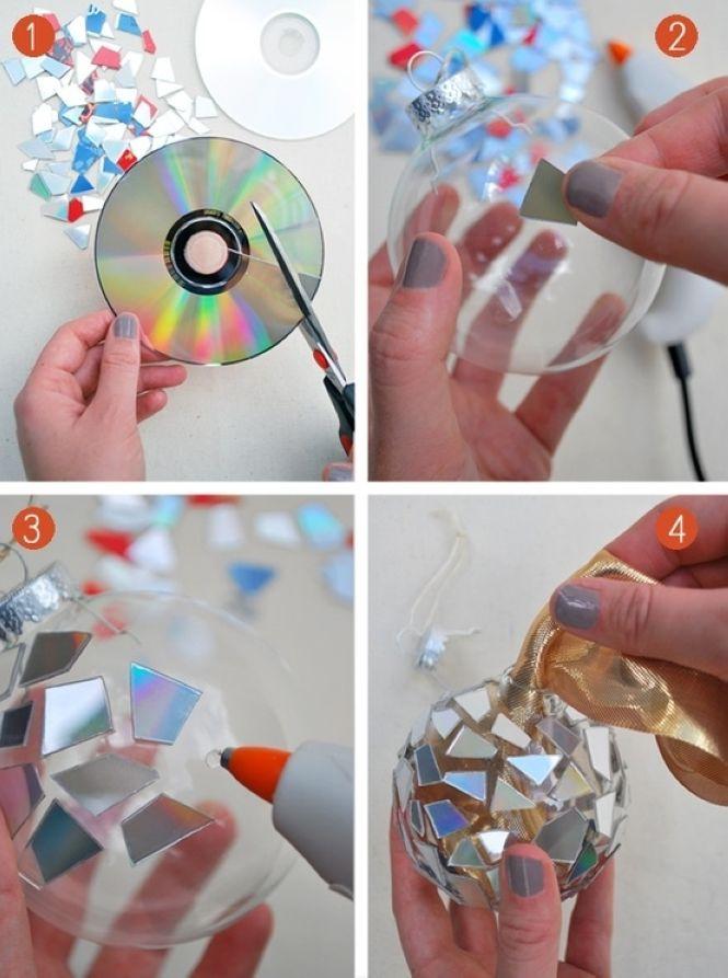 Кака сделать новогодние игрушки своими руками