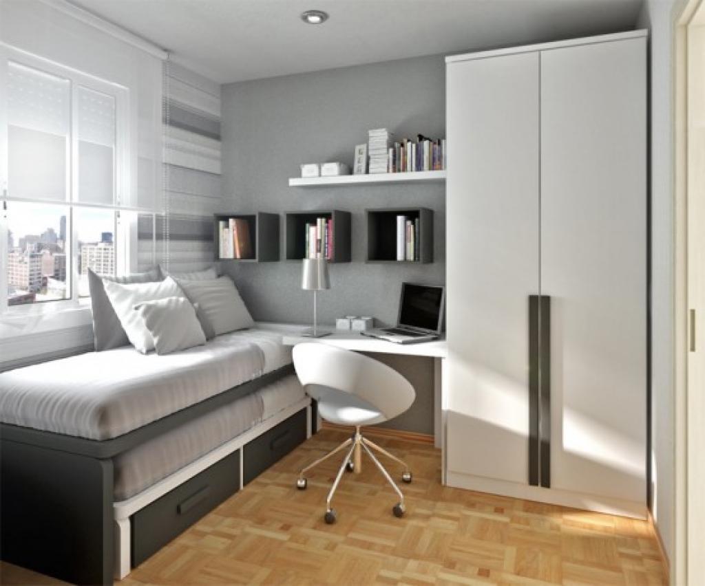 Дизайн спальни 12 кв.м в современном стиле в собственном доме