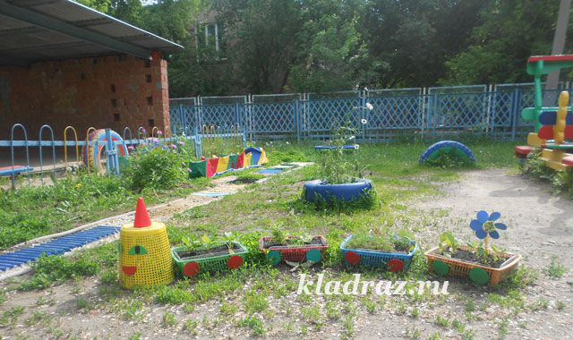 Поделки на участке детского сада своими руками фото