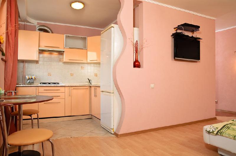 Кухня совмещённая с залом дизайн фото