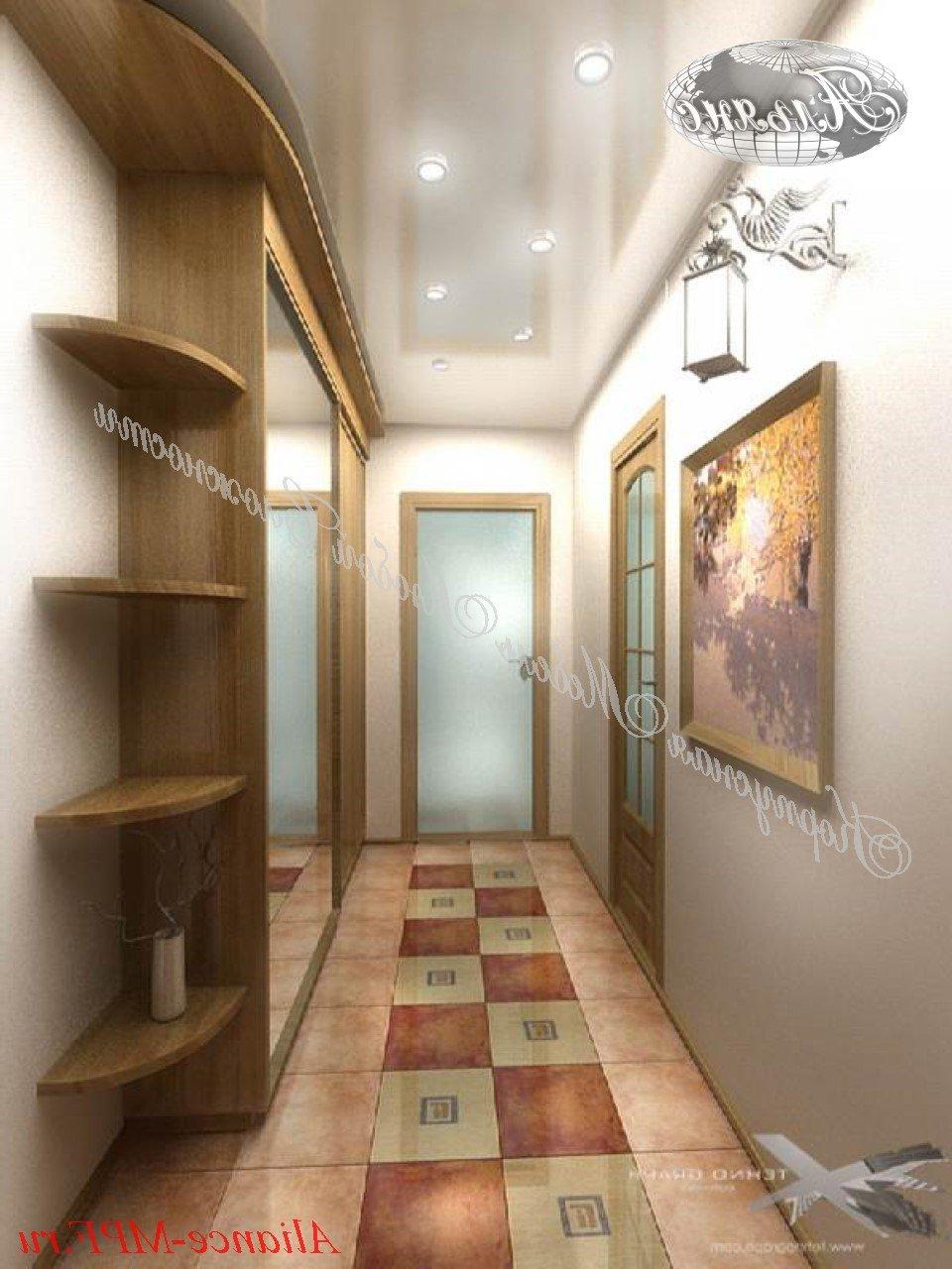 Длинный коридор идеи интерьер