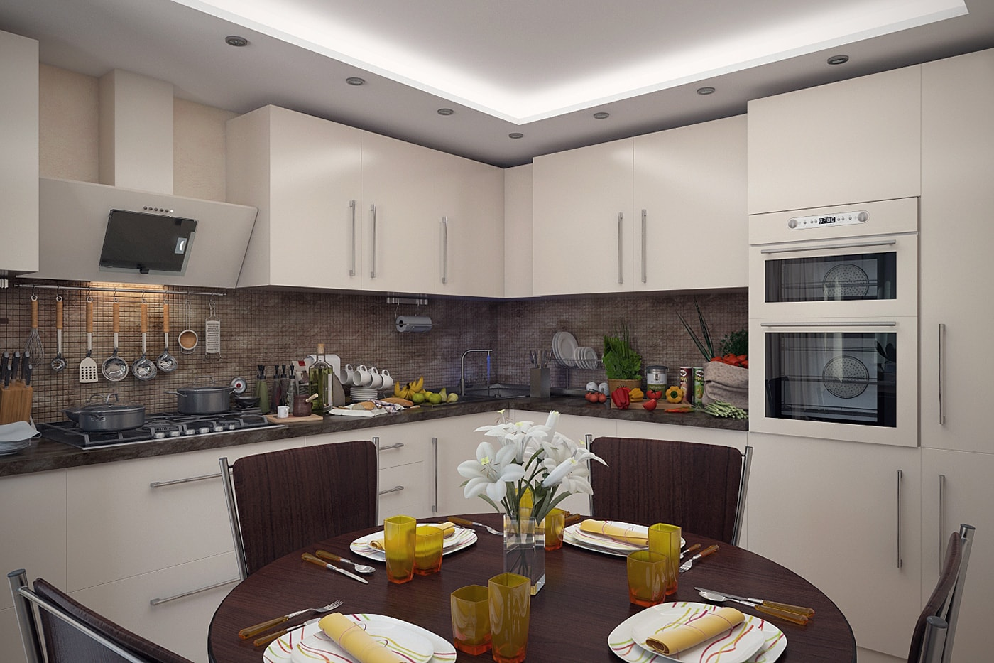 Интерьер кухни фото 2016 современные идеи 12