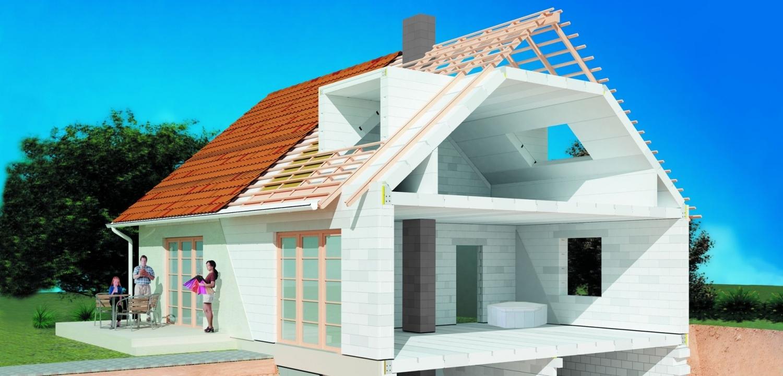 Построить дом своими руками из газобетона