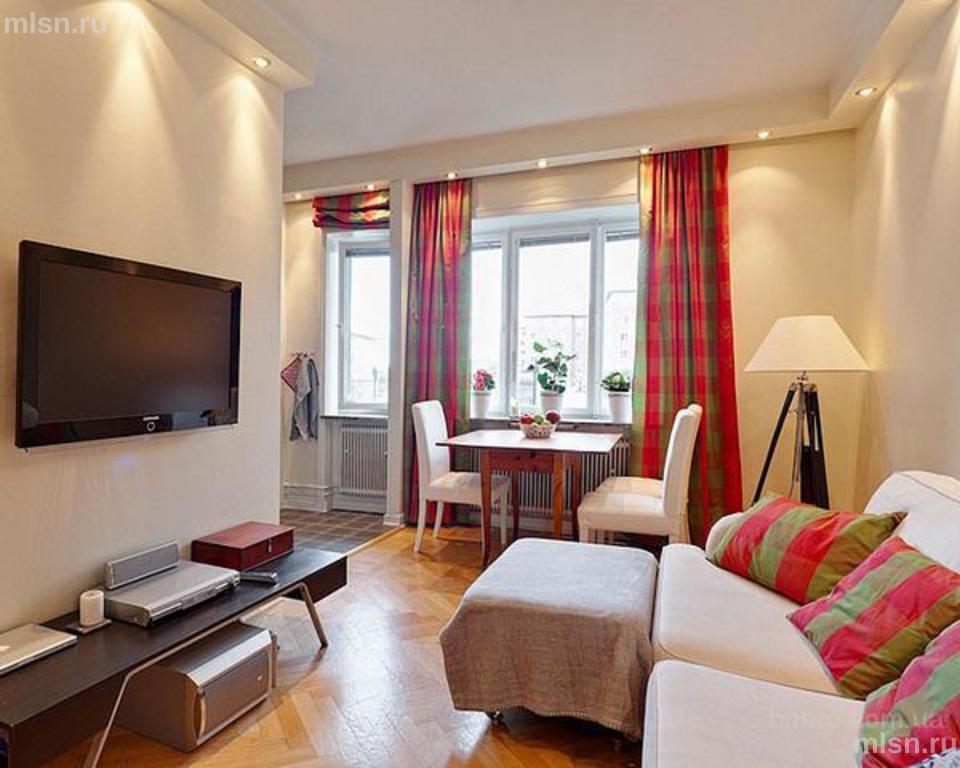 Дизайн интерьера маленькой квартиры реальные