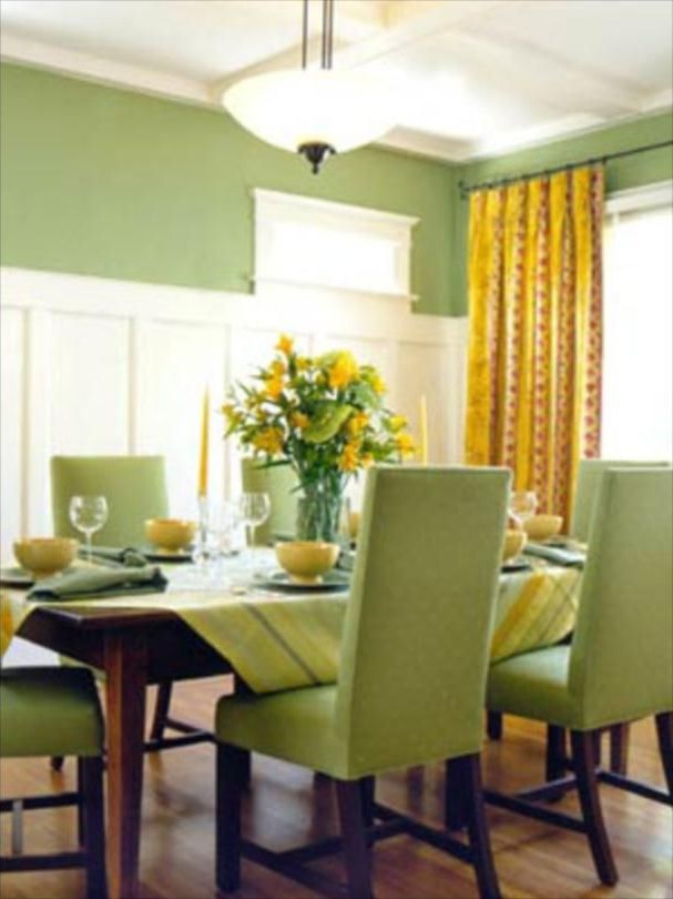 С чем сочетается фисташковый цвет в интерьере кухни фото