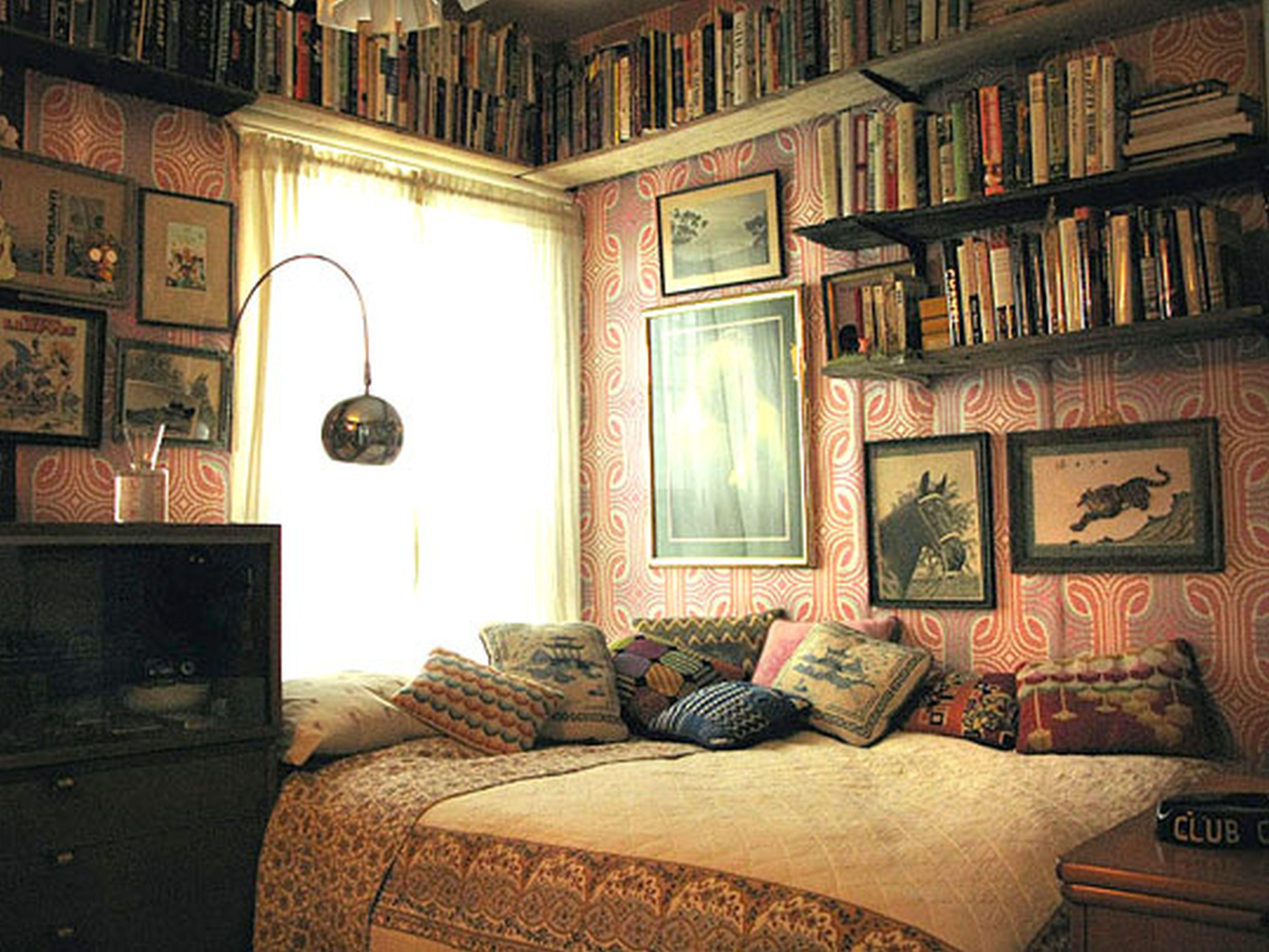 Интерьер для спальни в старом доме