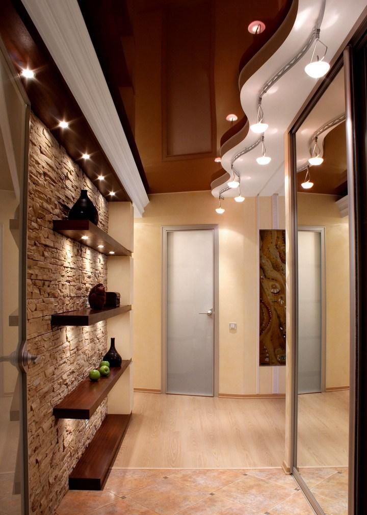 Идея ремонта коридора в панельном доме
