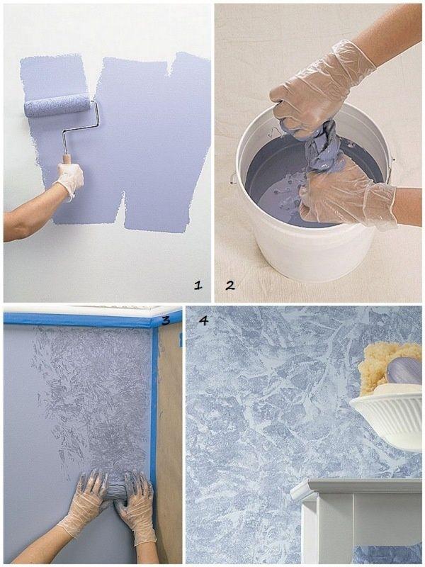 Дизайн покраски стен своими руками
