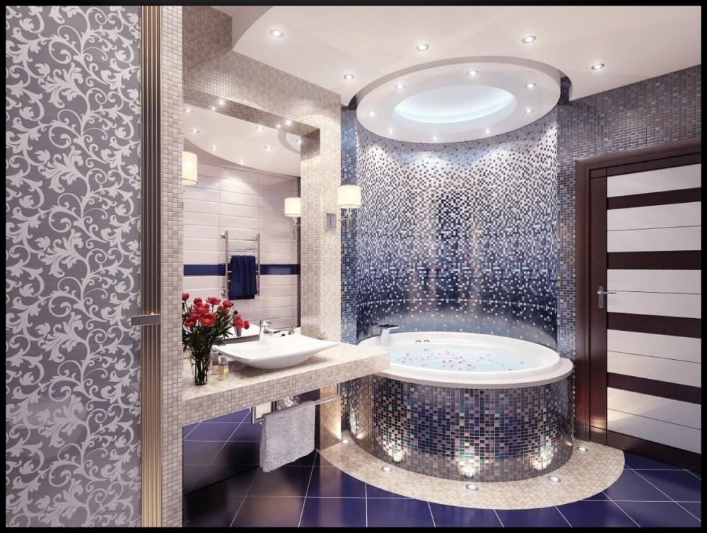 Дизайн ванной комнаты маленького размера в квартире