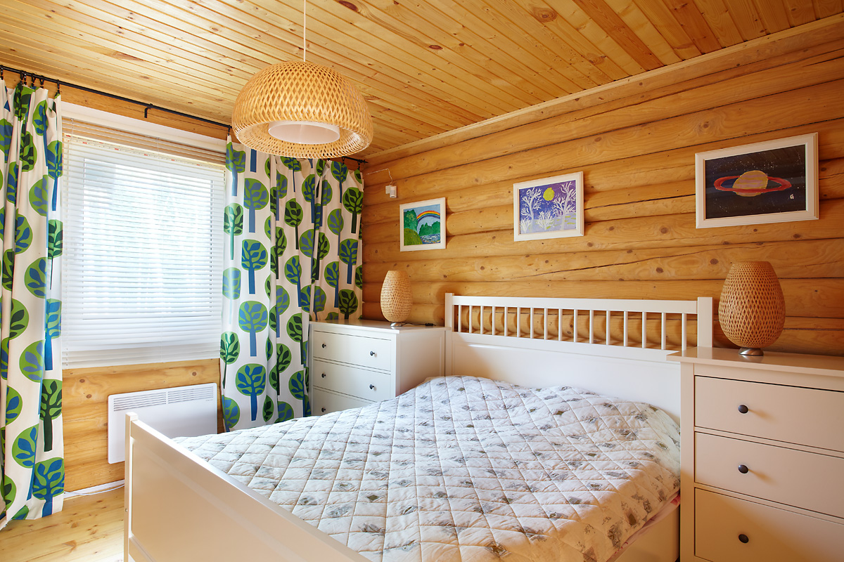 Дачный дизайн спальни