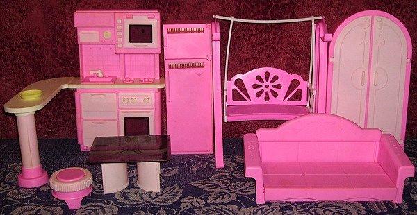 Мебель для кукол барби  поэтапно