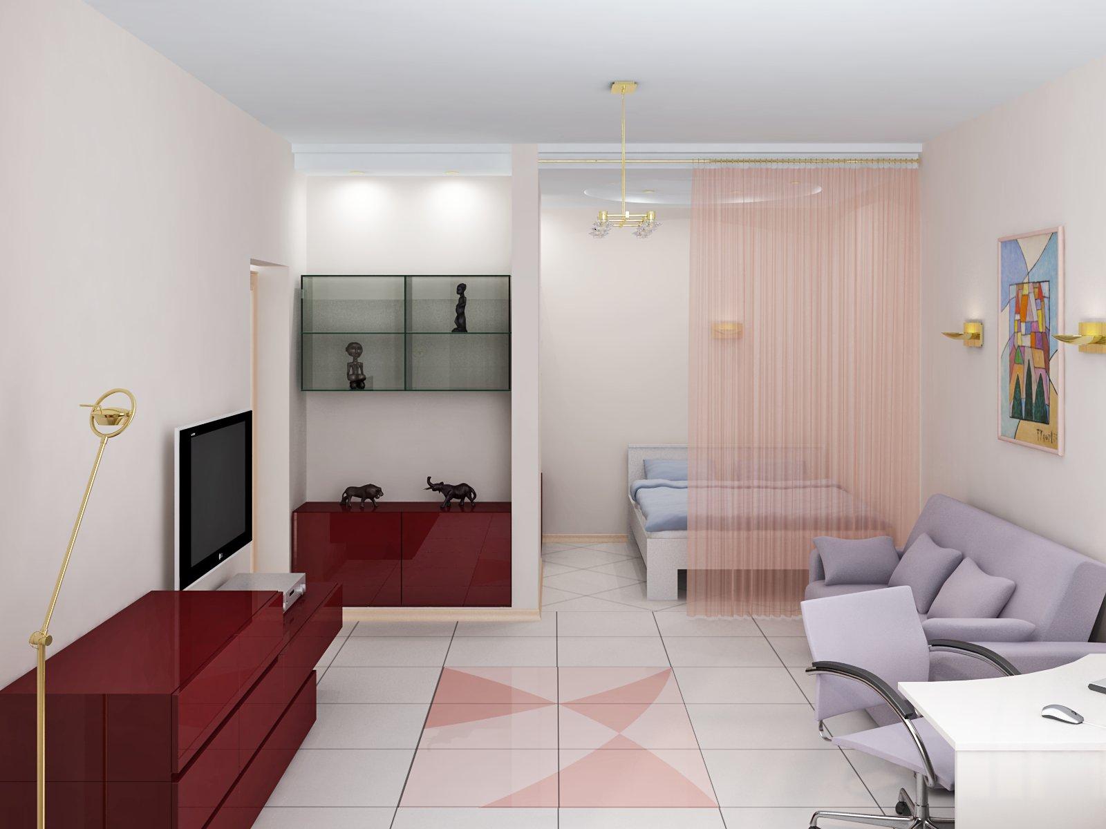 Как обставить однокомнатную квартиру фото идеи
