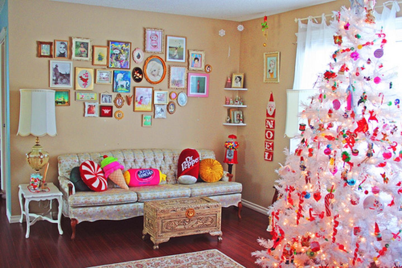 Як прикрасити свою кімнату на новий рік своїми руками фото