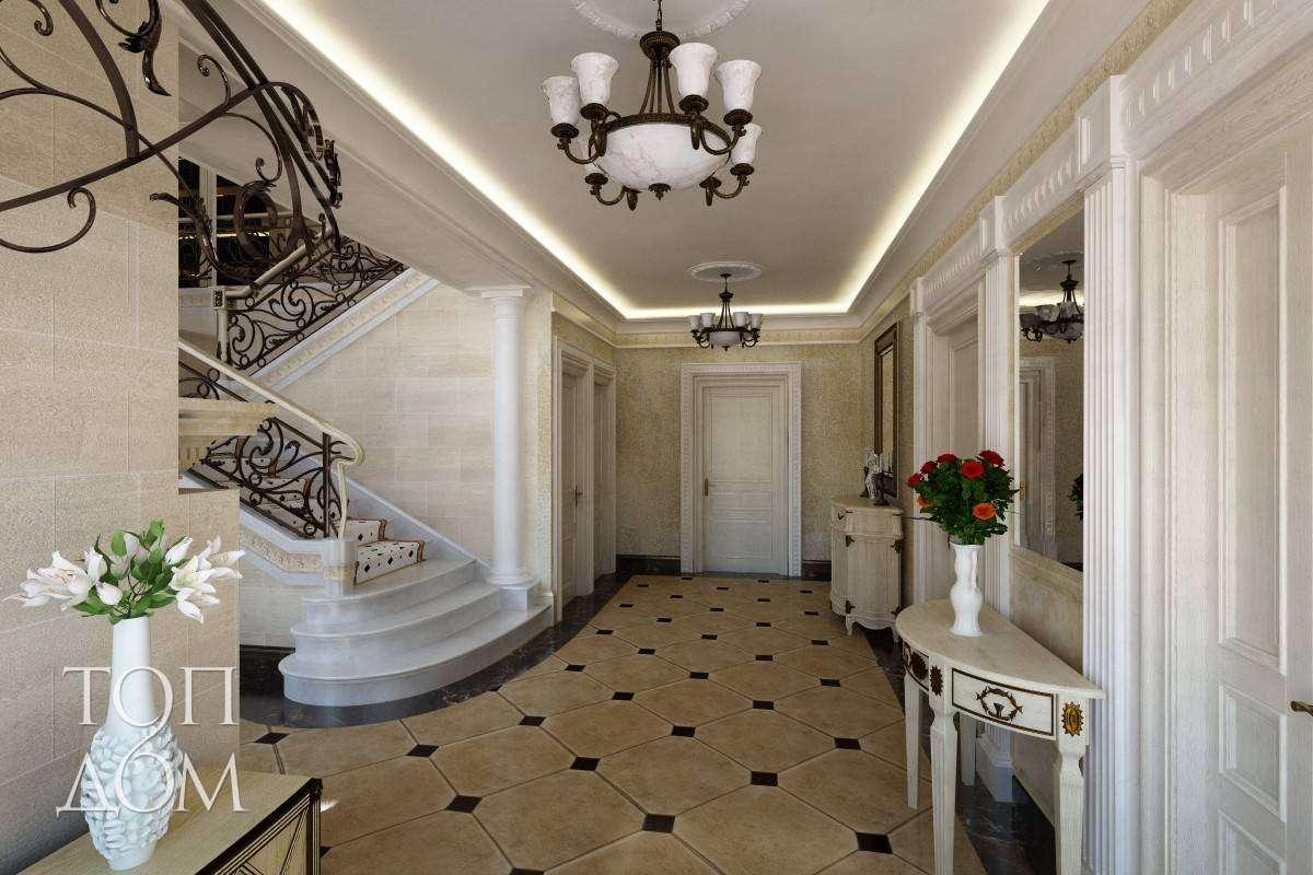 красивые прихожие дизайн в частных домах фото
