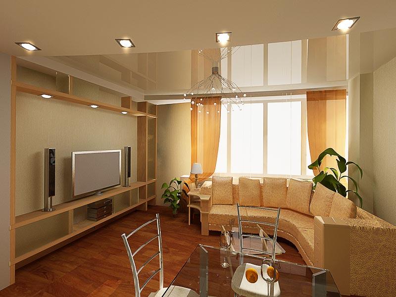 Дизайн новостройки-студии