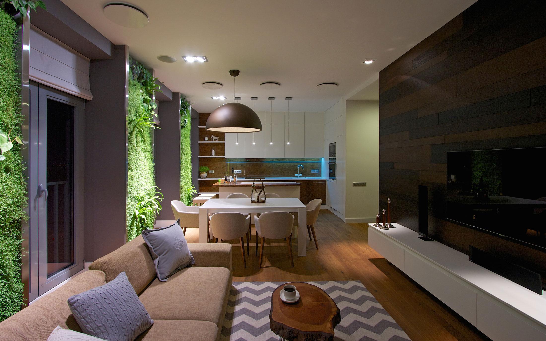 Новые решения в дизайне квартиры