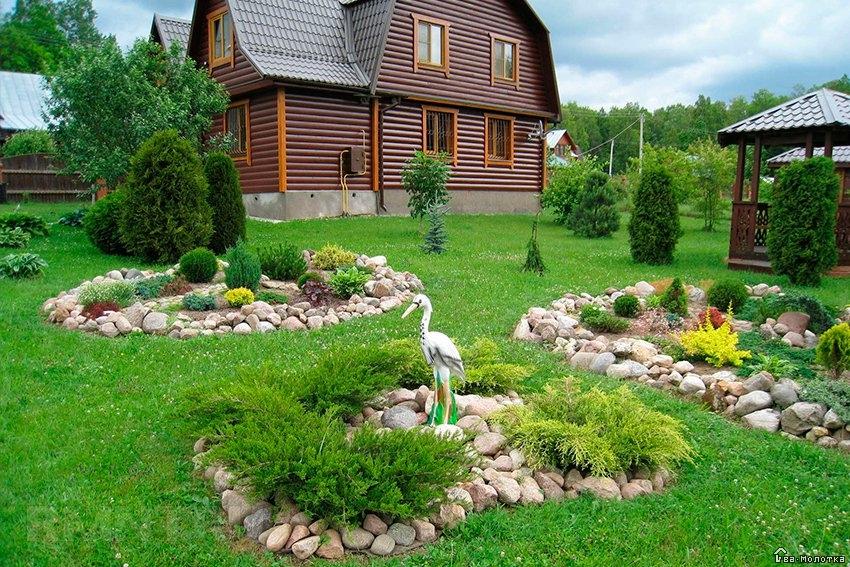 Садовый участок дизайн своими руками